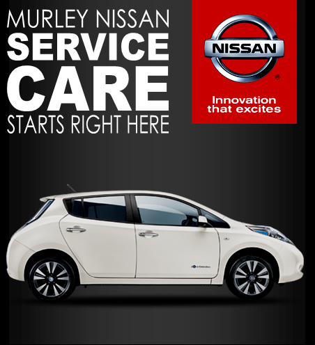 NISSAN HOME PAGE SERVICE BANNER